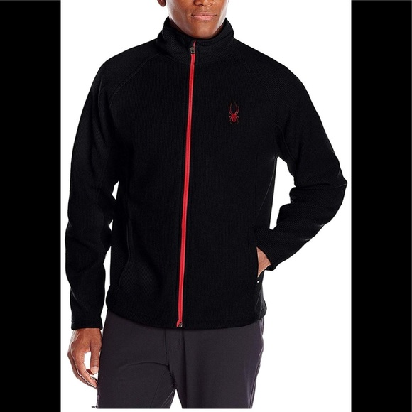 d2e759a4eb8b4d Spyder Jackets & Coats | Mens Stryke Fleece Jacket Black Xl | Poshmark